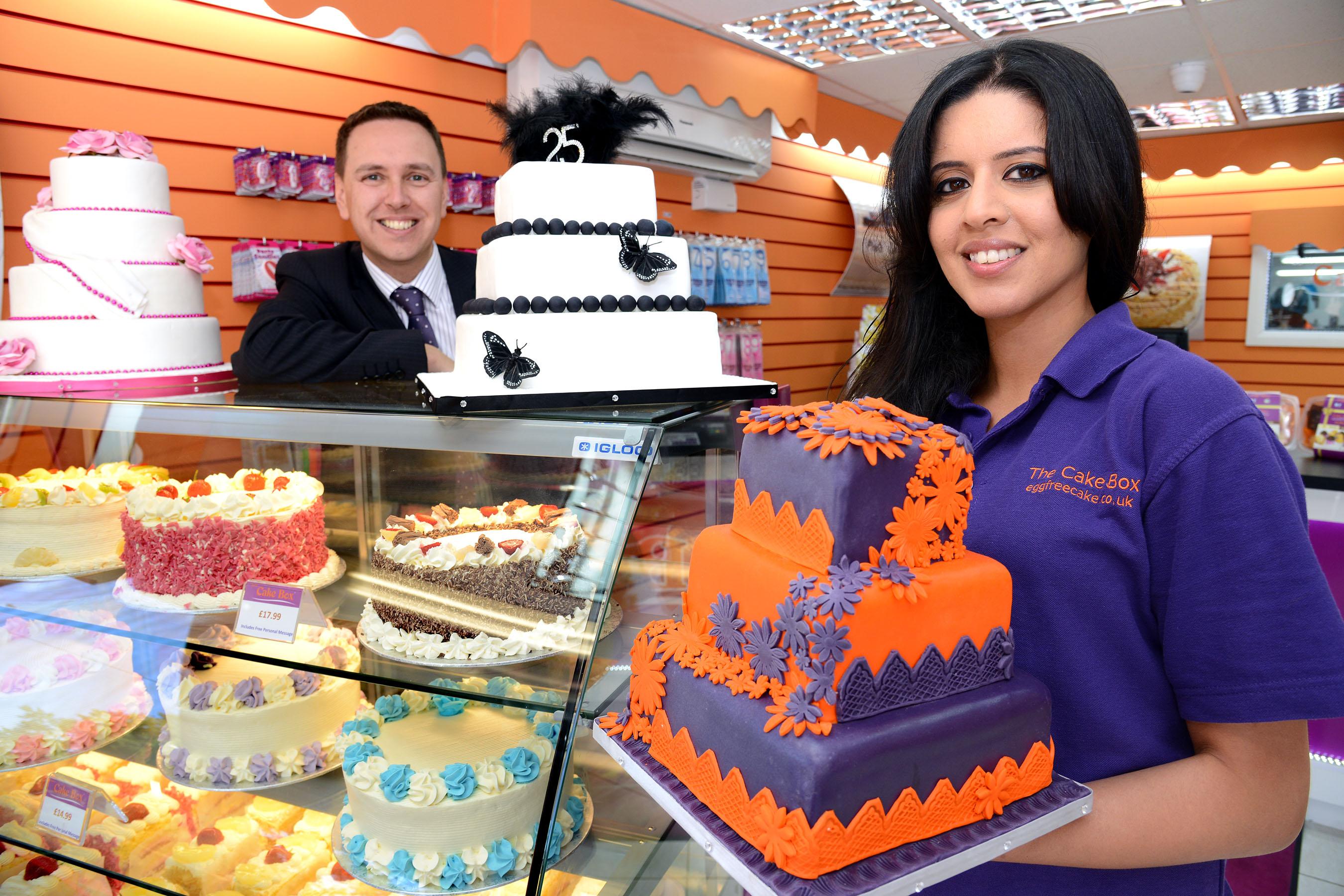 cake box franchise